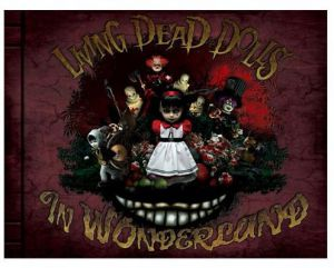 Mezco Toyz Living Dead Dolls in Wonderland Book