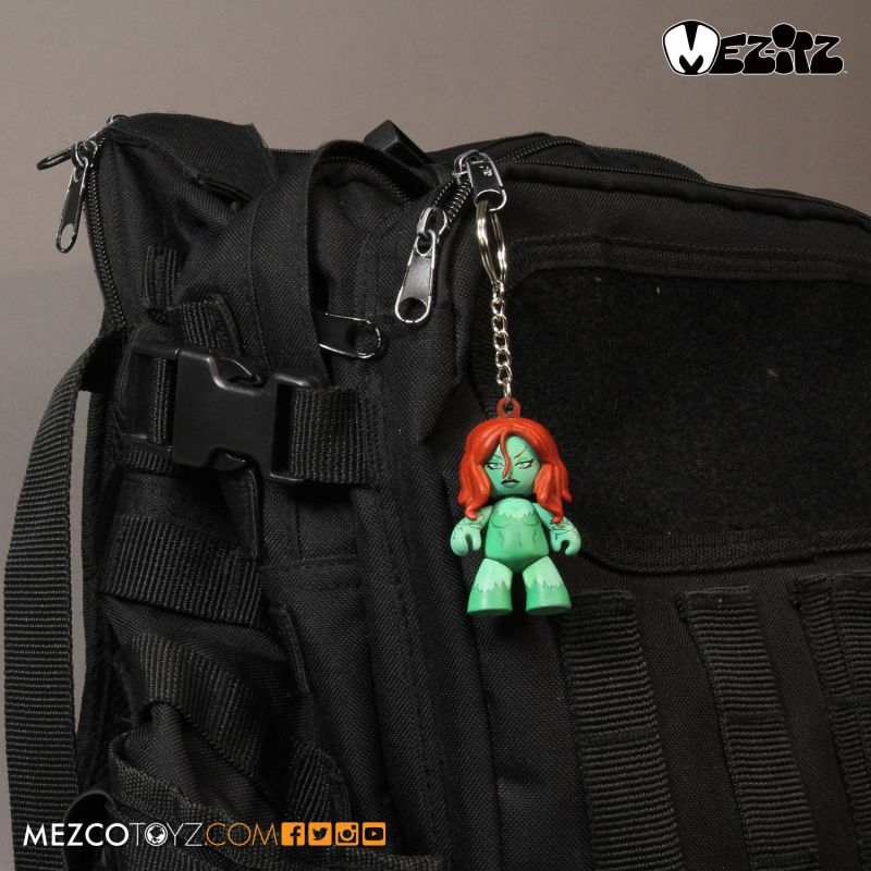 Mez-itz™ Poison Ivy Mini Clip-on by Mezco Toyz