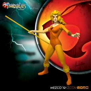 ThunderCats Mega Scale Cheetara by Mezco Toyz