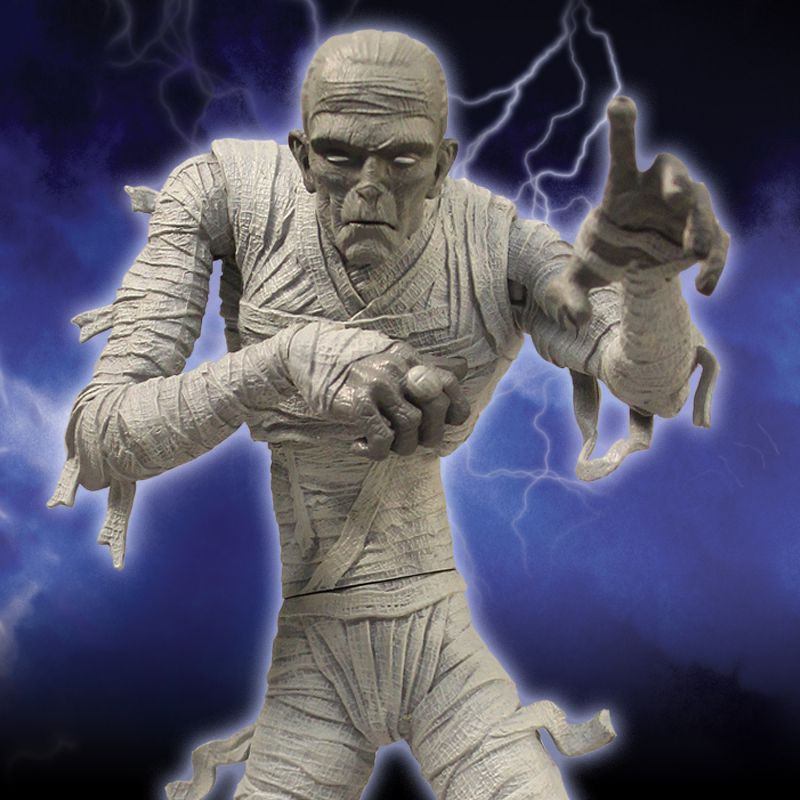 universal monsters the mummy action figure � mezco toyz�