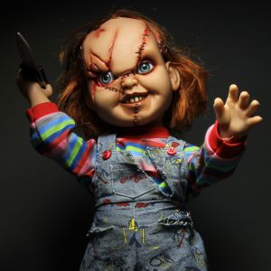 Chucky Talking Scarred Chucky