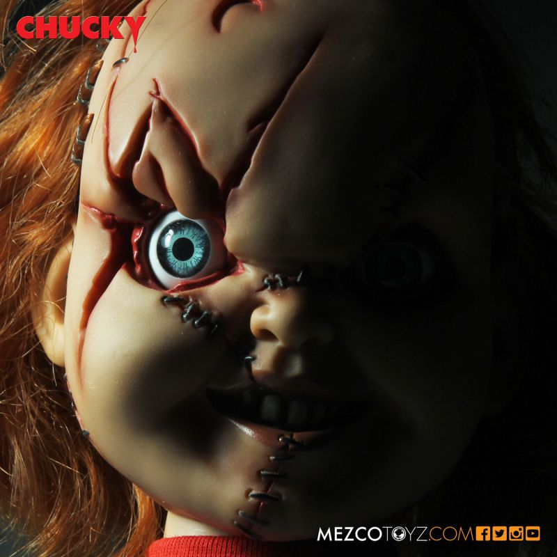 Talking Scarred Chucky