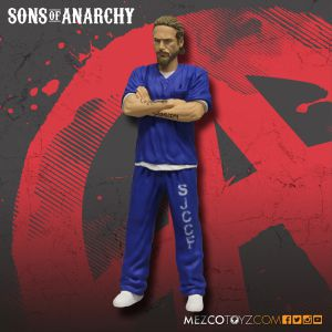 Sons Of Anarchy SDCC Jax Teller In Blue Prison Suit 6