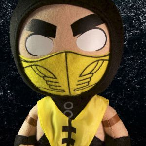 Mortal Kombat X Scorpion Plush