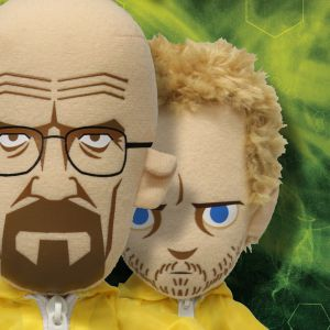 Breaking Bad Walter White & Jesse Pinkman in Hazmat Suit Plush Set