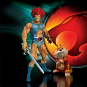 ThunderCats Mega Scale Lion-O with Snarf