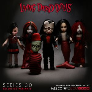 Living Dead Dolls Series 30: Deluxe Variant Set