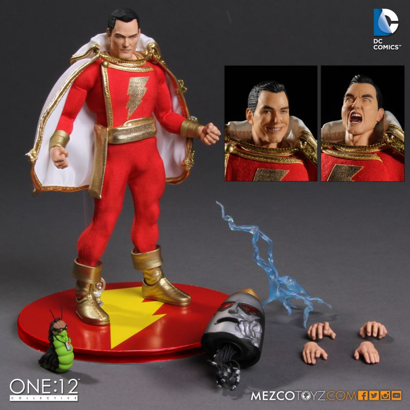 One:12 Collective DC Universe Shazam Figure by Mezco Toyz
