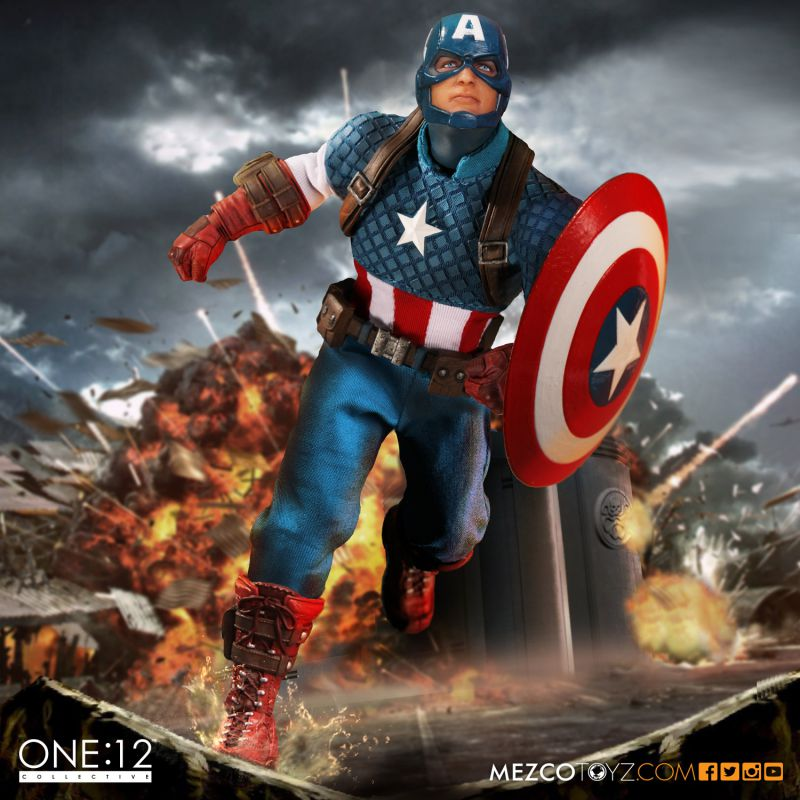 One:12 Collective Captain America 6