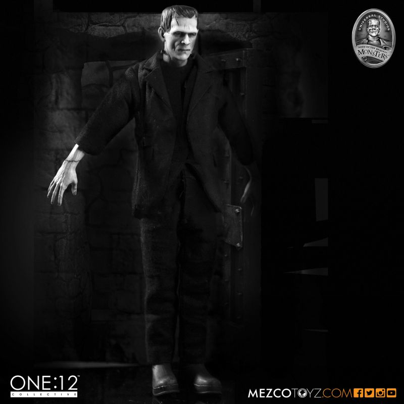 One:12 Collective Universal Monsters: Frankenstein Action Figure by Mezco Toyz