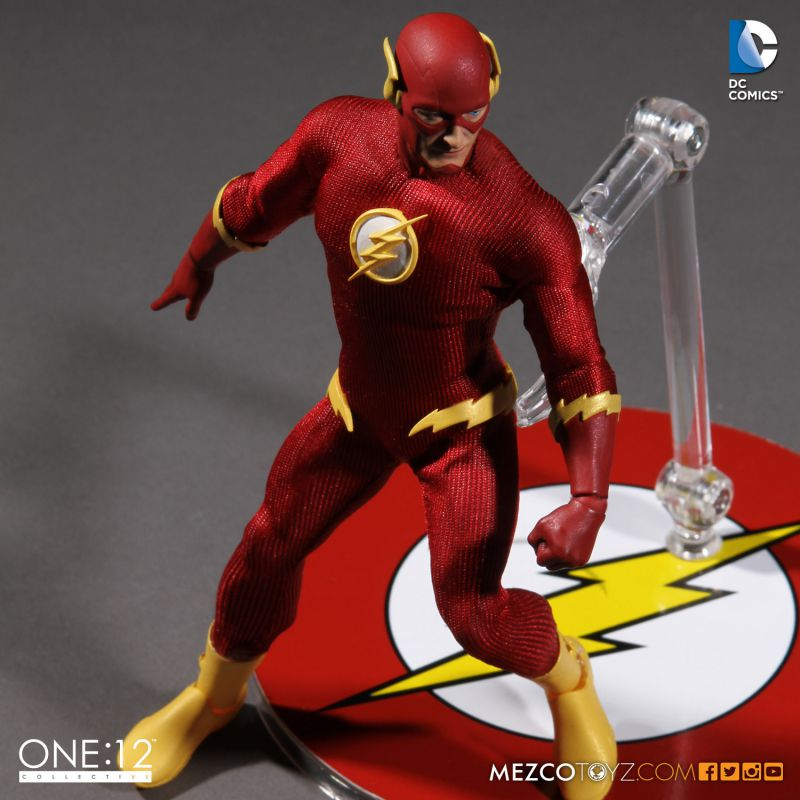 "One:12 Collective The Flash 6"" Action Figure by Mezco Toyz"