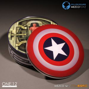 One:12 Collective Captain America Deluxe Classic Version Con Exclusive by Mezco Toyz