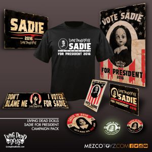 Living Dead Dolls Sadie For President Campaign Pack (XL)