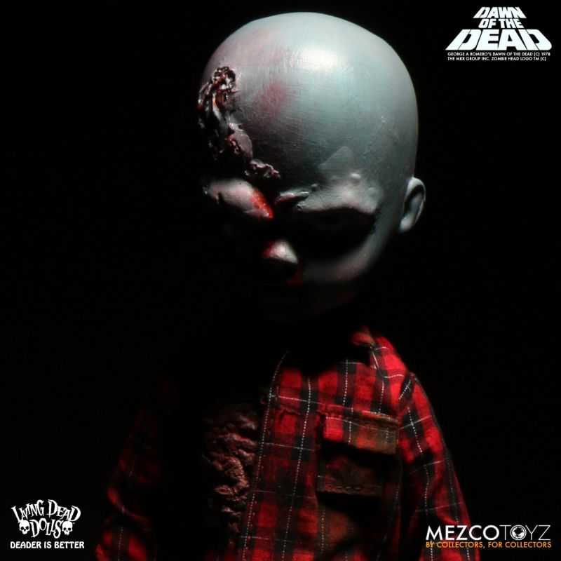 Living Dead Dolls Dawn of the Dead: Flyboy & Plaid Shirt Zombie by Mezco Toyz