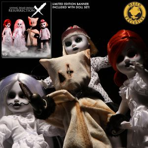 Living Dead Dolls Resurrection X: Ghostly White Variants