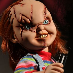 Chucky Talking Scarred Chucky Reissue