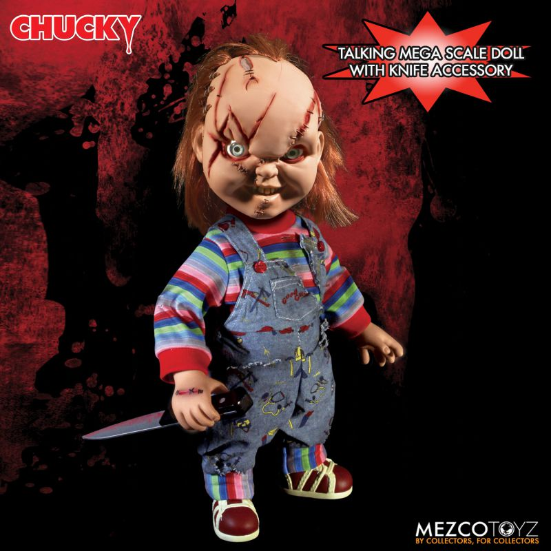 Talking Scarred Chucky Reissue