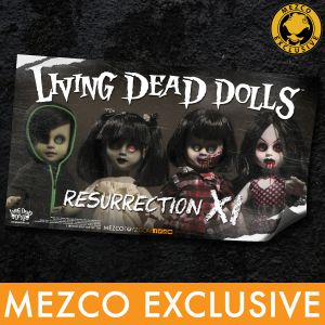 Living Dead Dolls Resurrection XI Banner