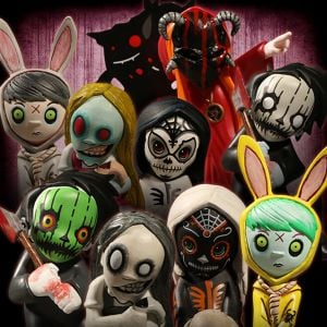 Living Dead Dolls Blindbox Figures: Resurrection Series 1 - Display Pack of 12