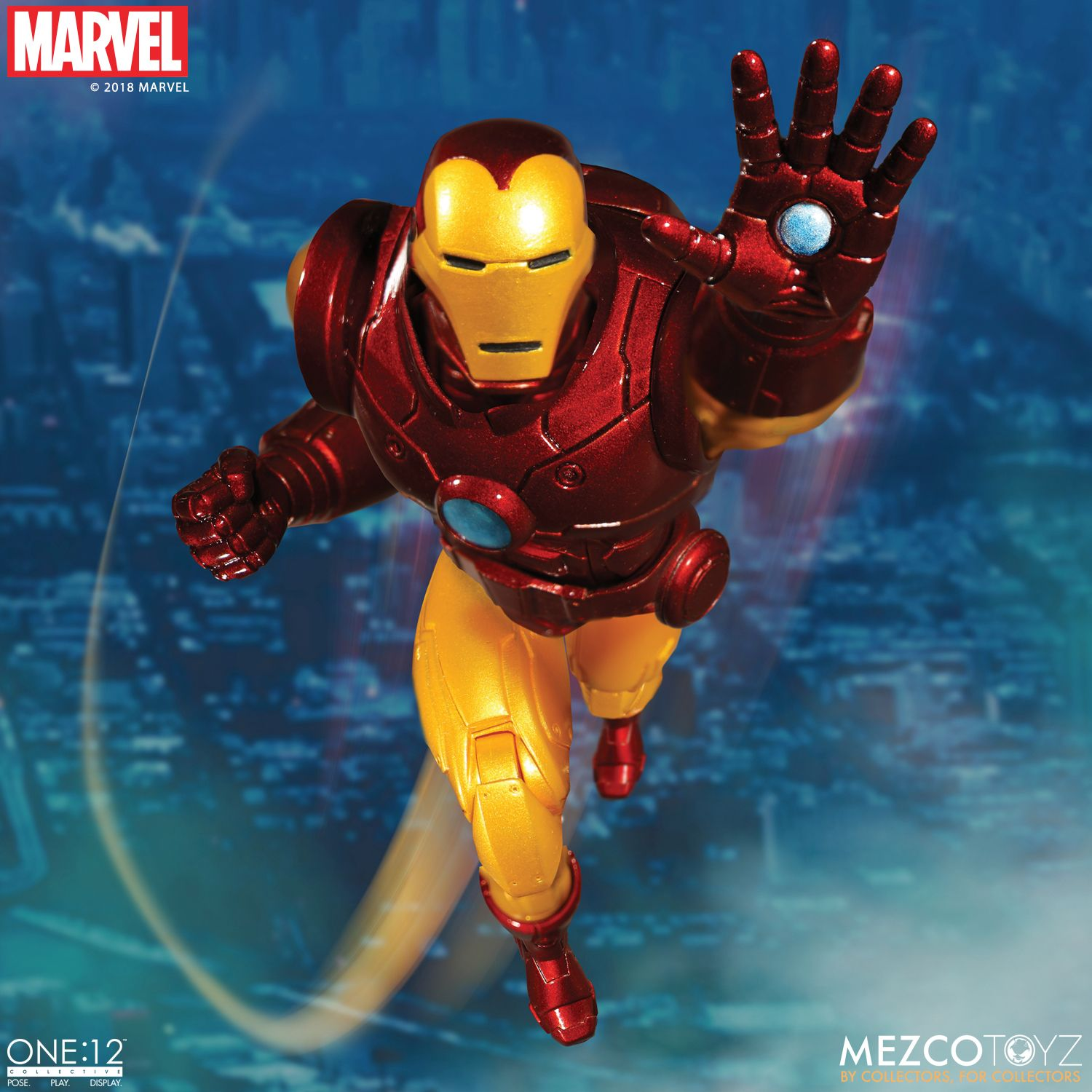 Invincible Iron Man 1 Christopher Action Figure Variant Marvel 2018 Anad