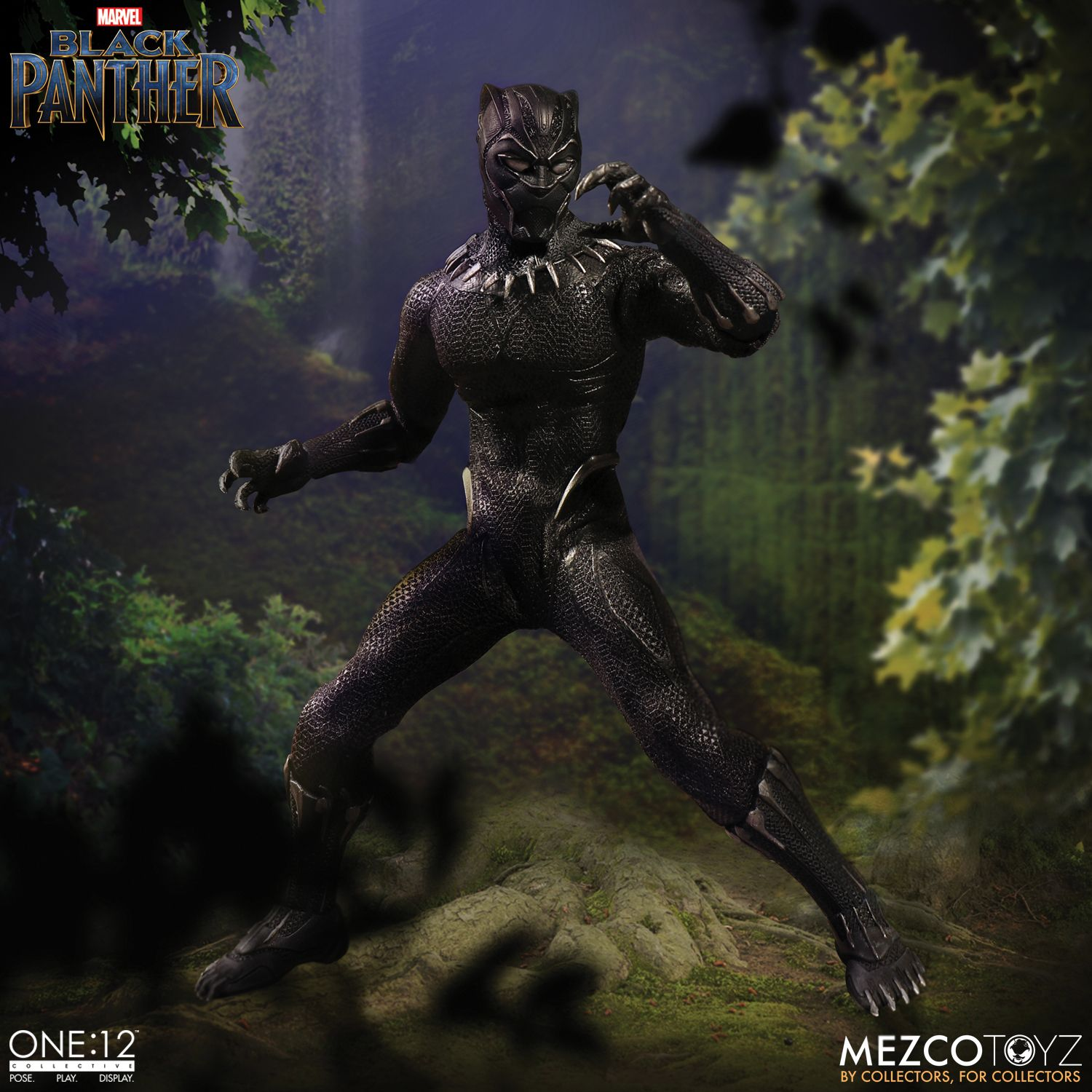BLACK PANTHER Figure Mezco IN STOCK ONE:12 Collective