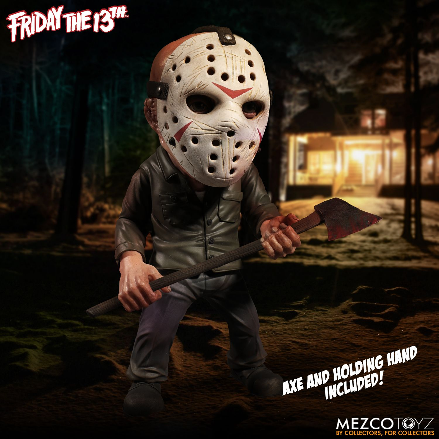 Friday The 13th Deluxe Stylized Jason Mezco Toyz