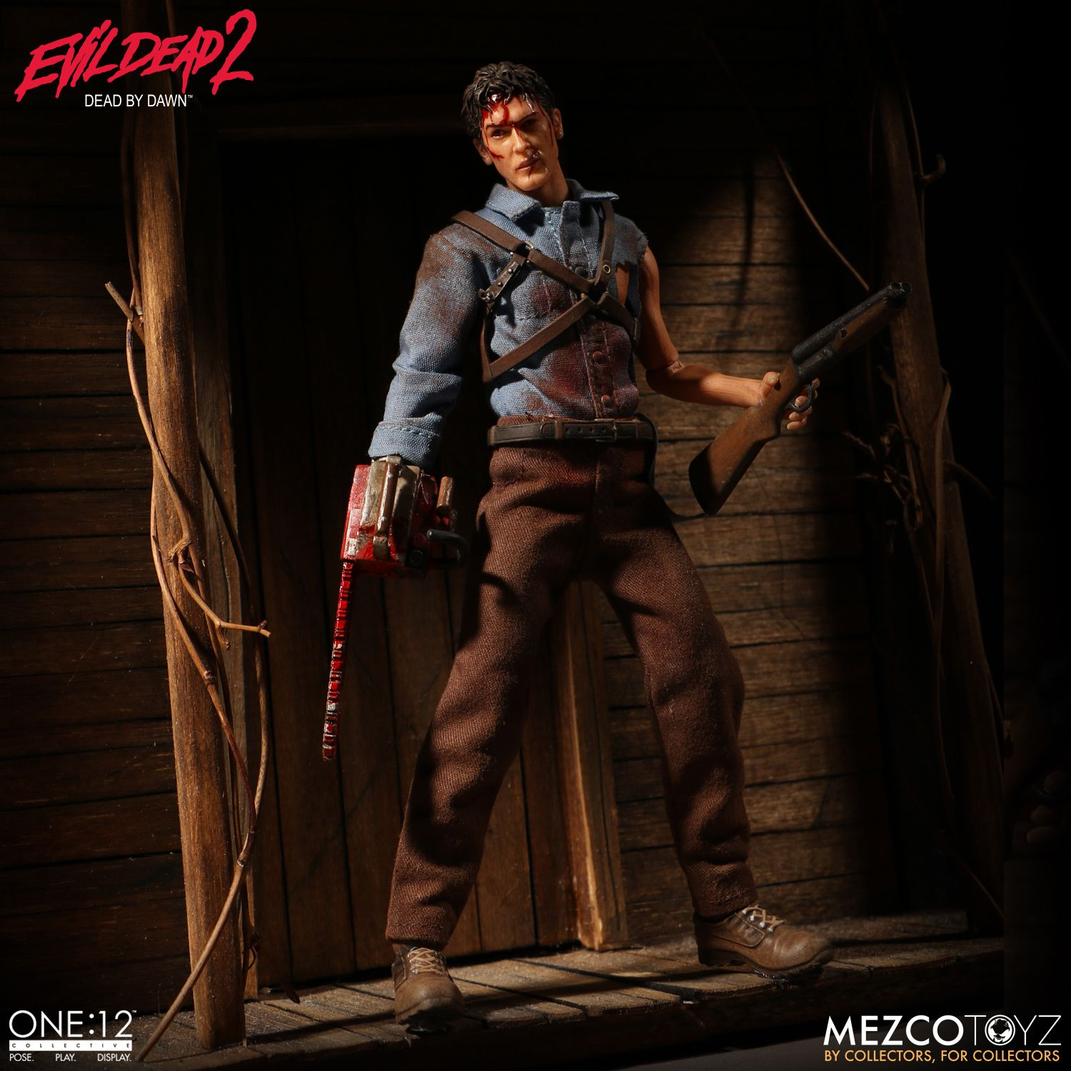 One:12 Collective Ash from Evil Dead 2 | Mezco Toyz  One:12 Collecti...