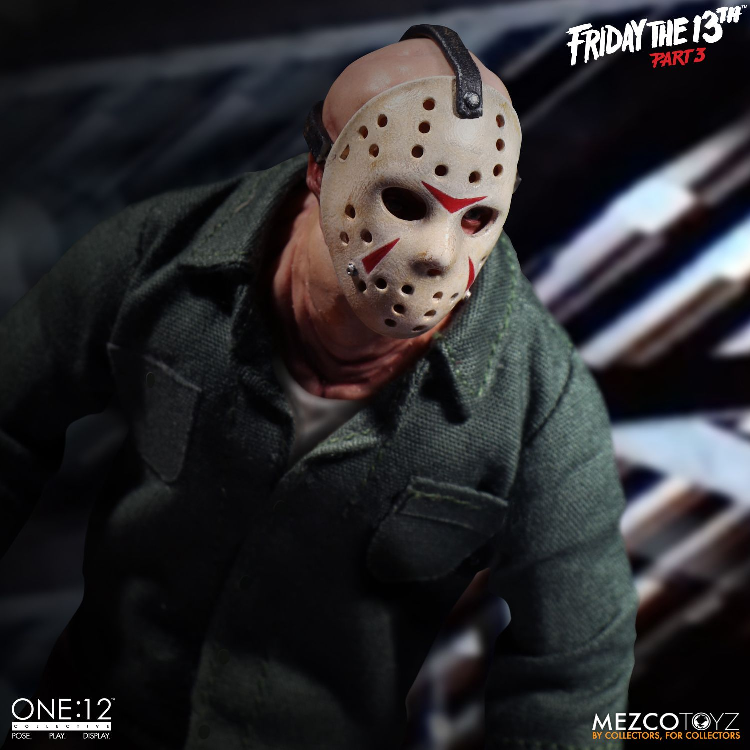 one 12 collective jason voorhees from friday the 13th part 3 mezco