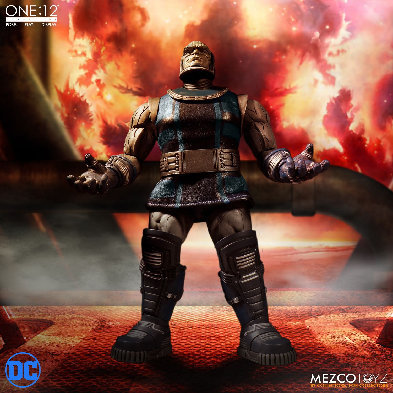 Mezco One:12 Collective Darkseid 7.5 Inch Action Figure In Stock Mint