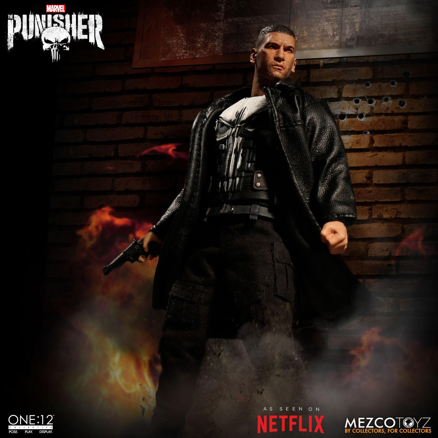 one 12 collective punisher mezco toyz