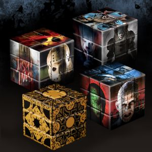 Puzzle Blox IT (2017): Pennywise, Jason Voorhees, Hellraiser, & Lament Configuration - 4 Pack