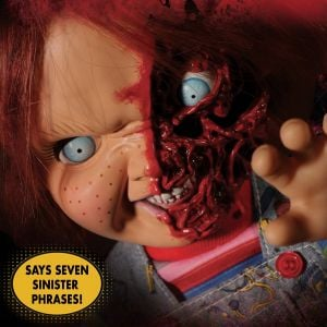 MDS Mega Scale Child's Play 3: Talking Pizza Face Chucky