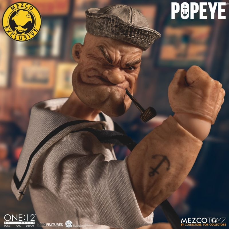 Popeye - Deluxe Sailor Edition