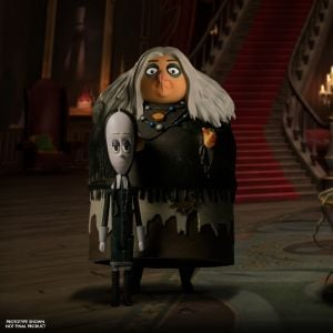 5 Points The Addams Family: Wednesday, Grandma, & Thing