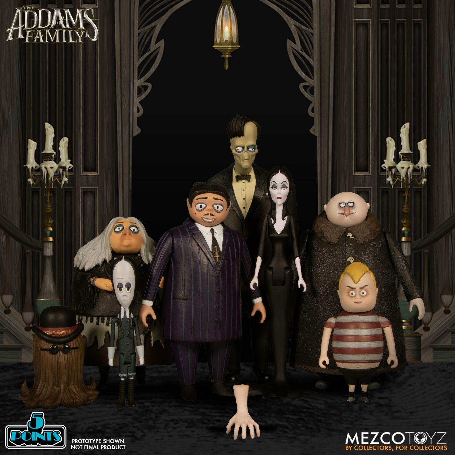 5 Points The Addams Family Lurch It Thing Mezco Toyz