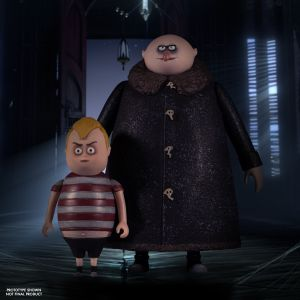 5 Points The Addams Family: Pugsley, Fester, & Thing