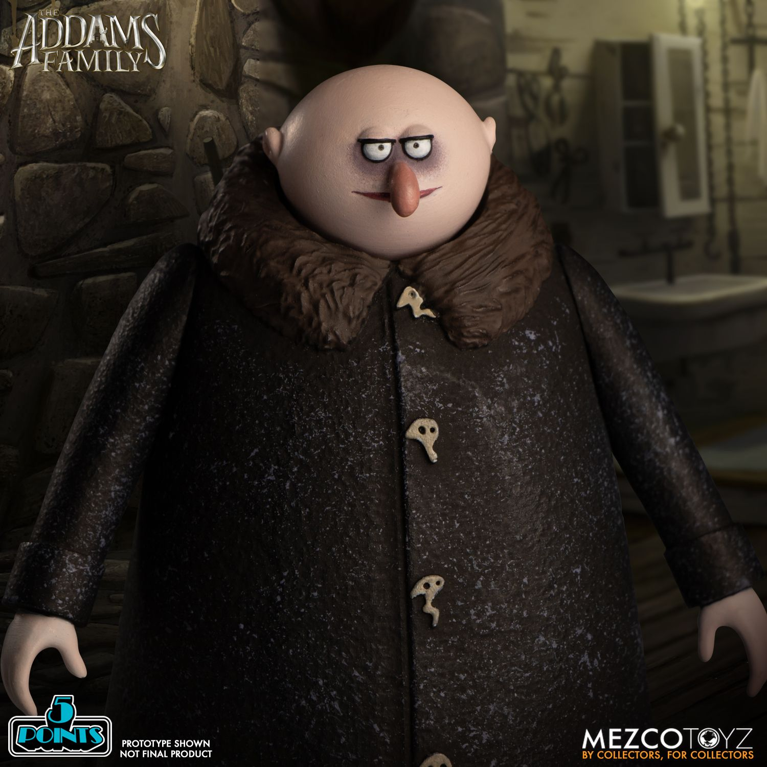 5 Points The Addams Family: Pugsley, Fester, & Thing ...