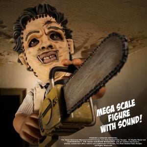 MDS Mega Scale The Texas Chainsaw Massacre (1974): Leatherface with Sound