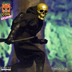 One:12 Collective House of The Golden Skulls: Gold Skull Ninja