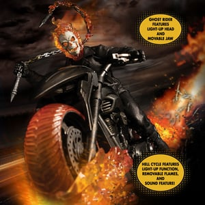 One:12 Collective Ghost Rider & Hell Cycle Set