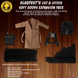 One:12 Collective Slugfest's Cut & Stitch - Soft Goods Expansion Pack