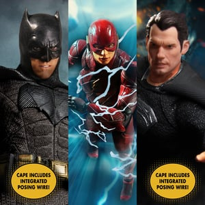 One:12 Collective Zack Snyder's Justice League Deluxe Steel Boxed Set