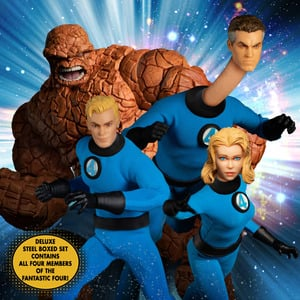 One:12 Collective Fantastic Four - Deluxe Steel Boxed Set