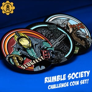 One:12 Collective Rumble Society Challenge Coin Set
