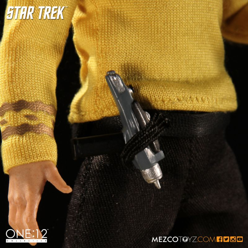 One:12 Collective Classic Star Trek Captian Kirk by Mezco Toyz