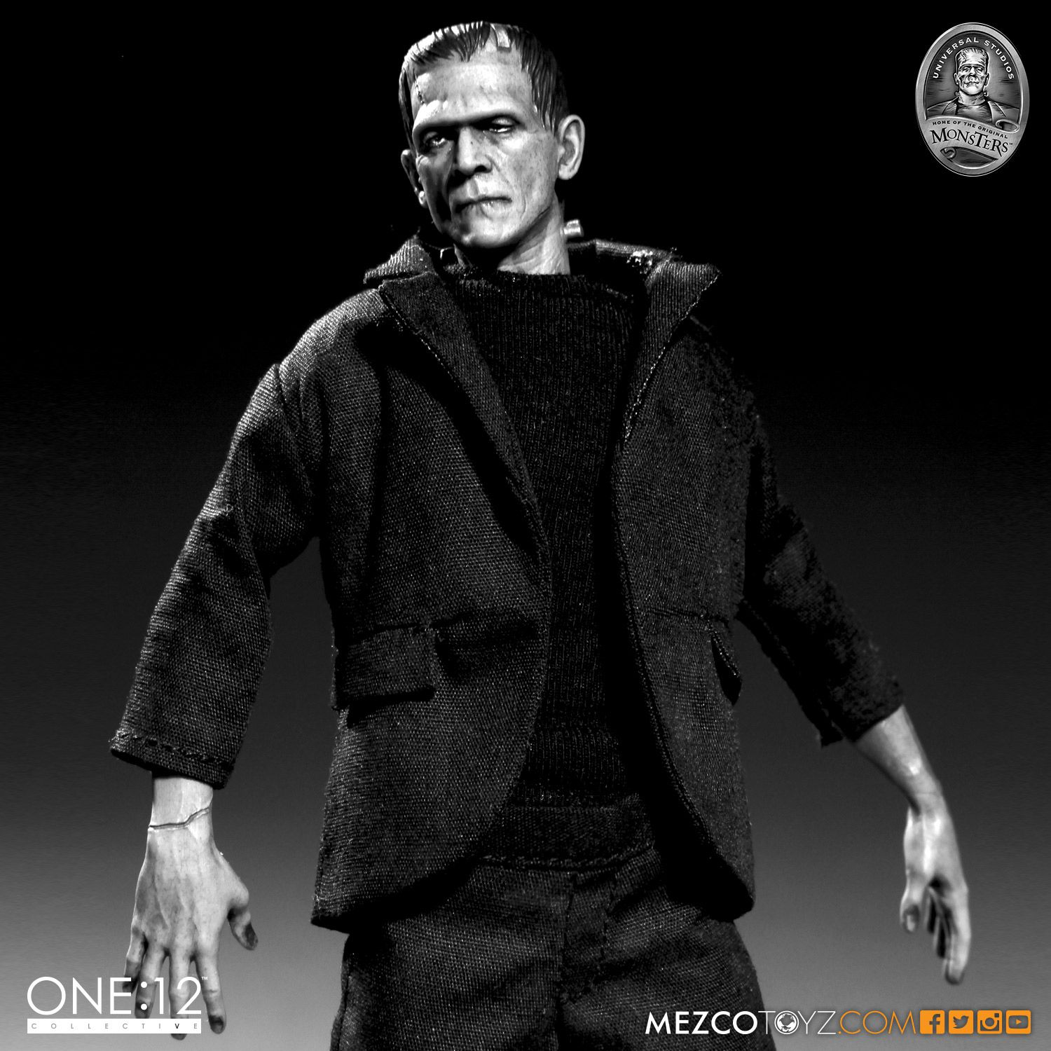 One 12 Collective Universal Monsters Frankenstein Action