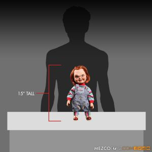 Child's Play Talking Sneering Chucky Doll by Mezco Toyz