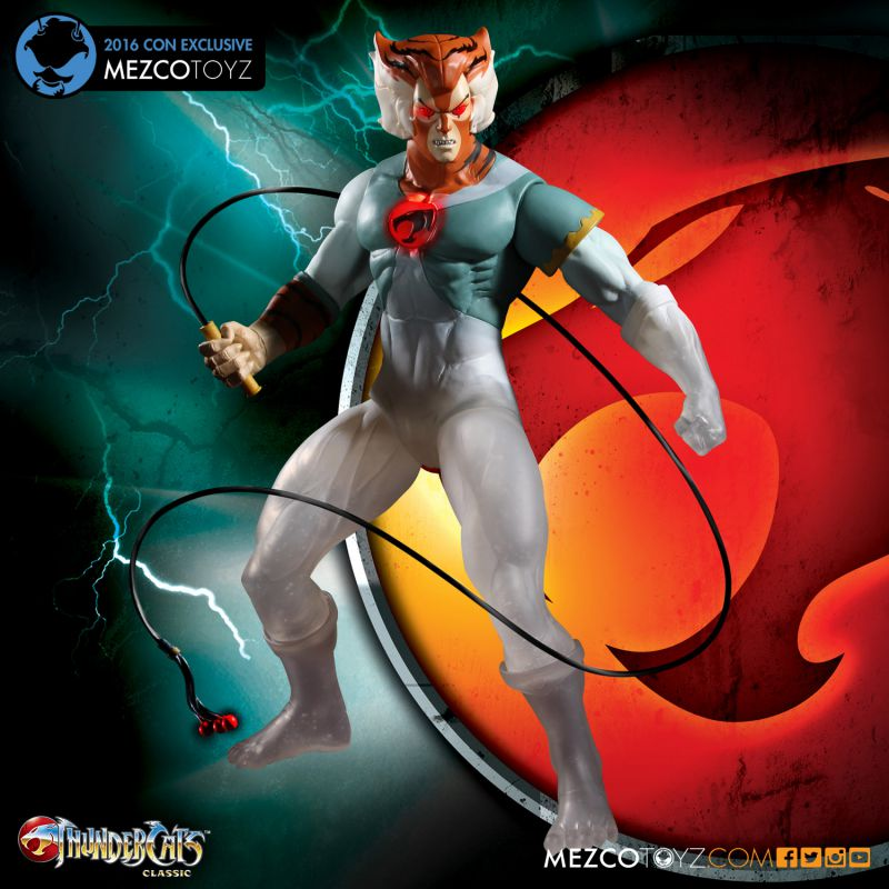 ThunderCats Phasing Tygra 2016 Con Exclusive by Mezco Toyz