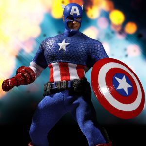One:12 Collective Captain America: Deluxe Classic Version