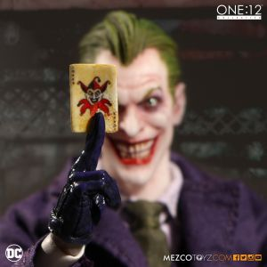 One:12 Collective The Joker Action Figure by Mezco Toyz